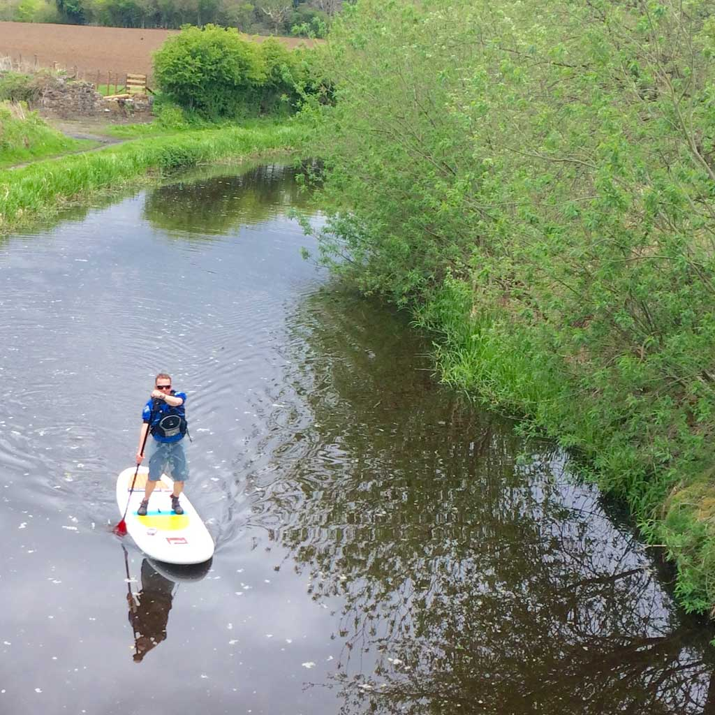 About Us Craig Wilson Of Standup Paddleboard Scotland
